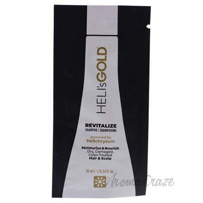 Revitalize Shampoo by Helis Gold for Unisex - 0.34 oz Shampo