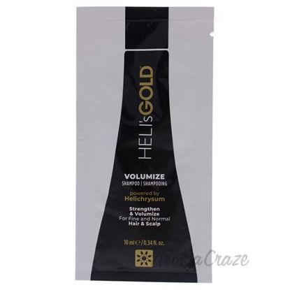 Volumize Shampoo by Helis Gold for Unisex - 0.34 oz Shampoo