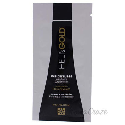 Weightless Conditioner by Helis Gold for Unisex - 0.34 oz Co