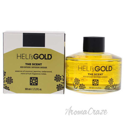 The Scent Reed Difuser Set by Helis Gold for Unisex - 2 Pc 3