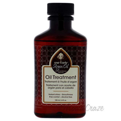 Argan Oil Treatment by One n Only for Unisex - 3.4 oz Treatm