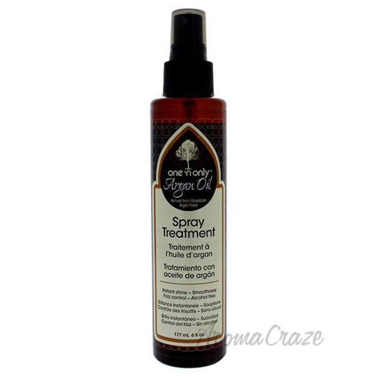 Argan Oil Spray Treatment by One n Only for Unisex - 6 oz Tr