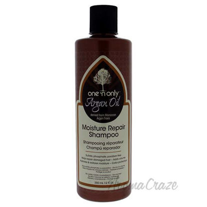 Argan Oil Moisture Repair Shampoo by One n Only for Unisex -