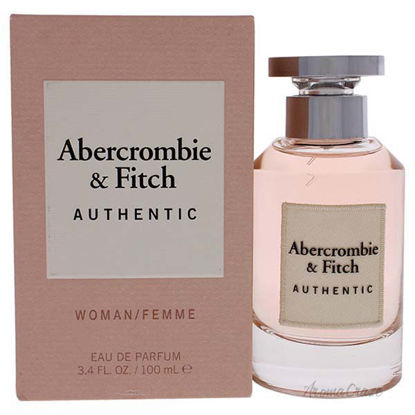 Authentic by Abercrombie and Fitch for Women- 3.4 oz EDP Spr