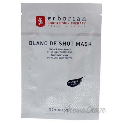 Blanc de Shot Mask by Erborian for Women - 1 Pc Mask