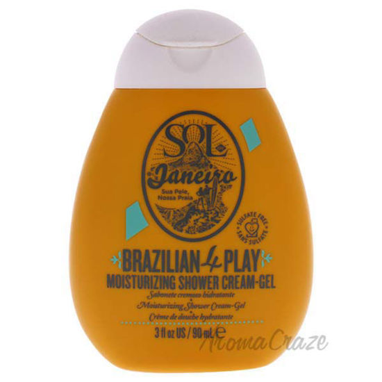 Brazilian 4 Play Moisturizing Shower Cream Gel by Sol de Jan