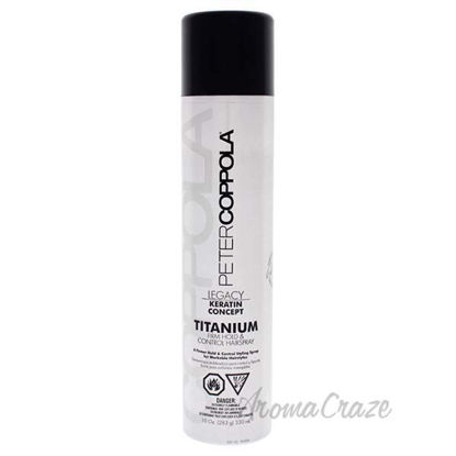 Titanium Extra Hair Spray by Peter Coppola for Unisex - 10 o