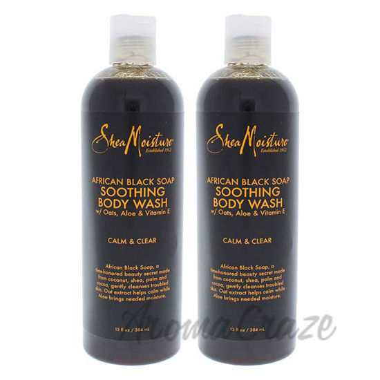 African Black Soap Soothing Body Wash by Shea Moisture for U