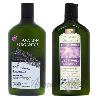 Organics Nourishing - Lavender Shampoo and Conditioner Kit b