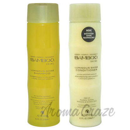 Bamboo Shine Luminous Shine Shampoo and Conditioner Kit by A