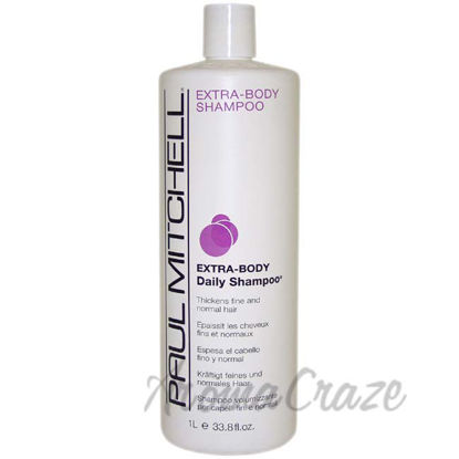Picture of Extra Body Daily Shampoo by Paul Mitchell for Unisex - 33.8 oz