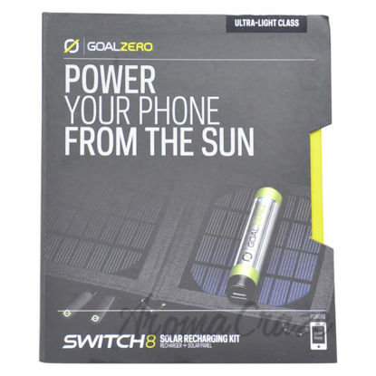 Picture of Switch 8 Solar Recharging Kit by Goal Zero for Unisex - 1 Pc Solar Recharger Kit