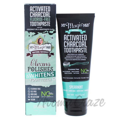 Picture of Activated Charcoal Whitening - Spearmint by My Magic Mud for Unisex - 4 oz