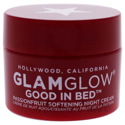 Picture of Good in Bed Passionfruit Softening Night Cream by Glamglow for Women - 0.17 oz