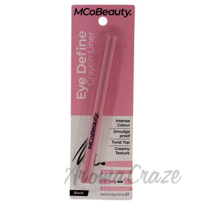 Picture of Eye Define Crayon Liner - Black by MCoBeauty for Women - 0.01 oz