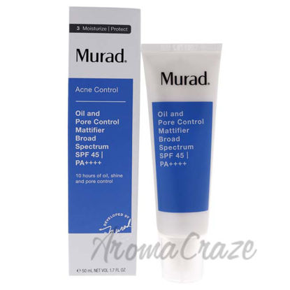 Picture of Oil and Pore Control Mattifier Broad Spectrum SPF 45by Murad for Unisex - 1.7 oz