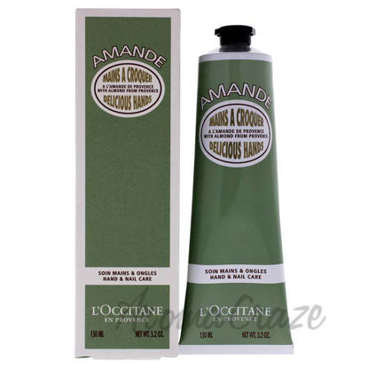 Picture of Almond Delicious Hands Cream by LOccitane for Unisex - 5.2 oz