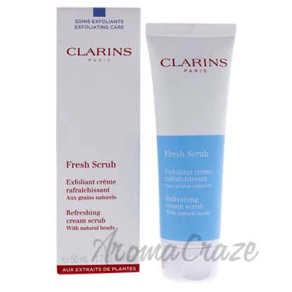 Picture of Fresh Scrub Refreshing Cream Scrub by Clarins for Unisex - 1.7 oz