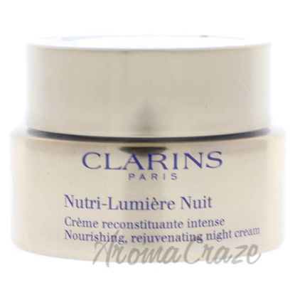 Picture of Nutri-Lumiere Night Cream by Clarins for Unisex - 1.6 oz