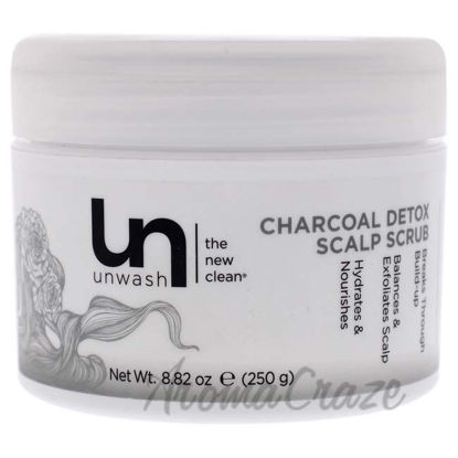 Picture of Charcoal Detox Scalp Scrub by Unwash for Unisex - 8.82 oz