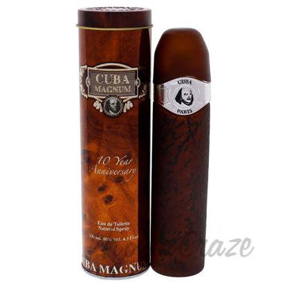 Picture of Cuba Magnum Black by Cuba for Men - 4.3 oz