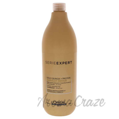 Picture of Serie Expert Absolut Repair Gold Conditioner by LOreal Professional for Unisex - 34 oz