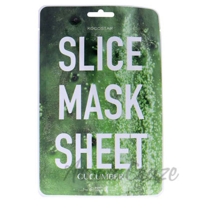 Picture of Slice Sheet Mask - Cucumber by Kocostar for Unisex - 1 Pc