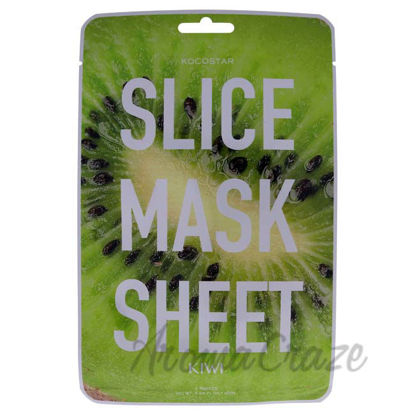 Picture of Slice Sheet Mask - Kiwi by Kocostar for Unisex - 1 Pc