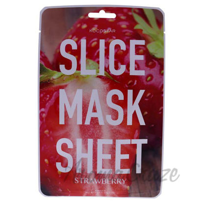 Picture of Slice Sheet Mask - Strawberry by Kocostar for Unisex - 1 Pc