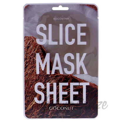 Picture of Slice Sheet Mask - Coconut by Kocostar for Unisex - 1 Pc