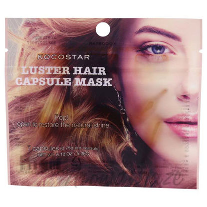 Picture of Luster Hair Capsule Mask by Kocostar for Unisex - 7 Count Mask