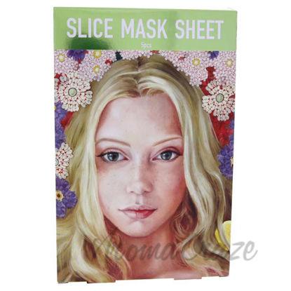 Picture of Slice Sheet Mask Bestseller Kit by Kocostar for Unisex - 5 Count Mask