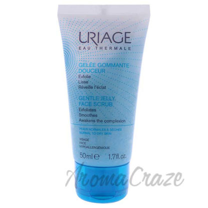Picture of Gentle Jelly Face Scrub by Uriage for Unisex - 1.7 oz