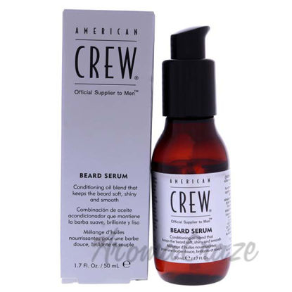 Picture of Beard Serum by American Crew for Men - 1.7 oz