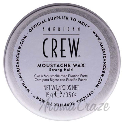 Picture of Moustache Wax by American Crew for Men - 0.5 oz