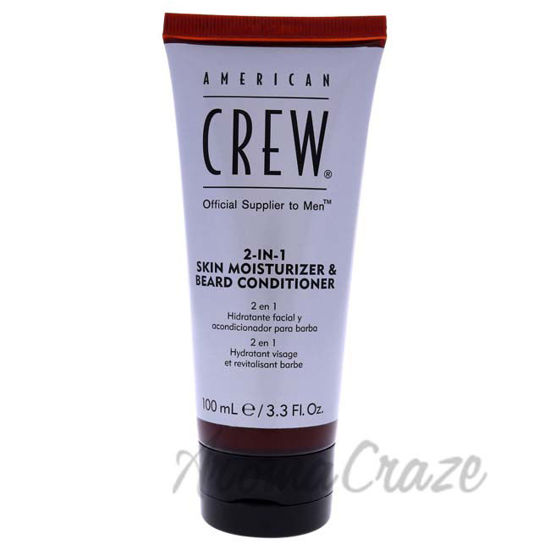 Picture of 2-In-1 Skin Moisturizer and Beard Conditioner by American Crew for Men - 3.3 oz