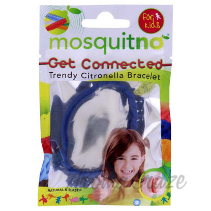 Picture of Get Connected Citronella Bracelet - Blue by Mosquitno for Kids - 1 Pc Bracelet