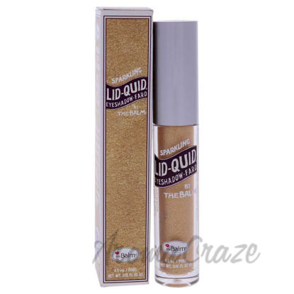 Picture of Lid-Quid Sparkling Liquid Eyeshadow - Champagne by the Balm for Women - 0.15 oz