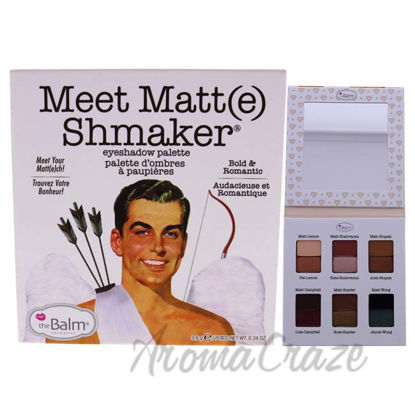 Picture of Meet Matte Shmaker Palette by the Balm for Women - 0.34 oz