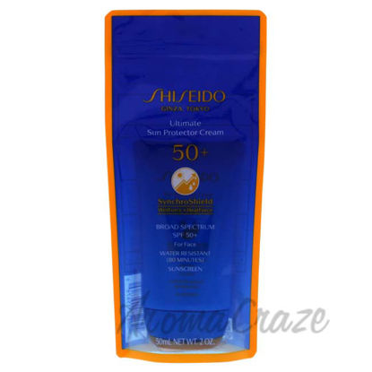 Picture of Ultimate Sun Protector Cream SPF 50 by Shiseido for Unisex - 2 oz