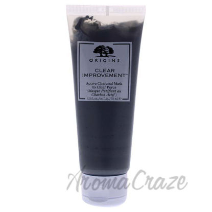 Picture of Clear Improvement Active Charcoal Mask by Origins for Unisex - 2.5 oz
