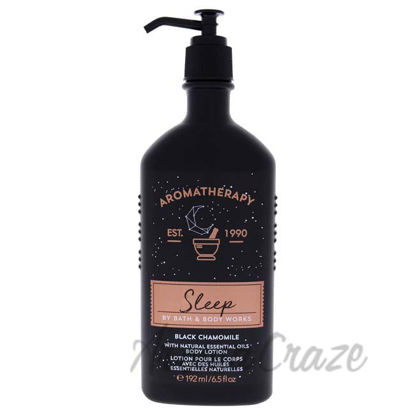 Picture of Aromatherapy Sleep - Black Chamomile by Bath and Body Works for Unisex - 6.5 oz