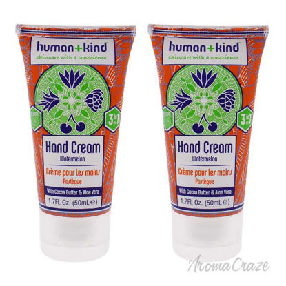 Picture of Hand-Elbow-Feet Cream - Watermelon   by Human+kind for Unisex - 1.7 oz