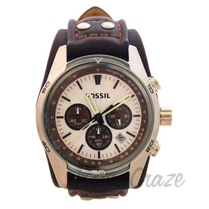 Picture of CH2565P Coachman Chronograph Brown Leather Watch by Fossil for Men - 1 Pc Watch