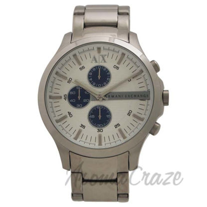 Picture of AX2136 Chronograph Stainless Steel Bracelet Watch by Armani Exchange for Men - 1 Pc Watch