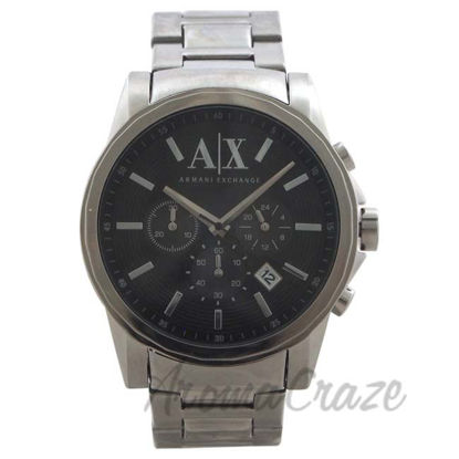 Picture of AX2084 Chronograph Stainless Steel Bracelet Watch by Armani Exchange for Men - 1 Pc Watch