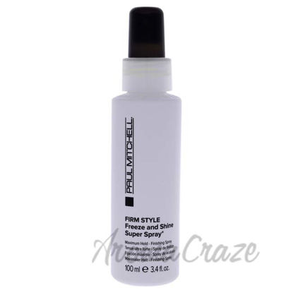 Picture of Freeze and Shine Super Spray by Paul Mitchell for Unisex - 3.4 oz