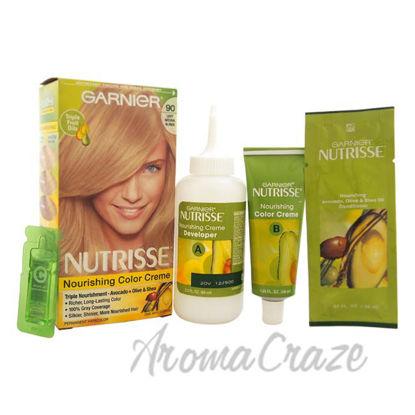 Picture of Nutrisse Nourishing Color Creme # 90 Light Natural Blonde by Garnier for Unisex