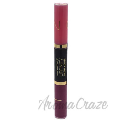 Picture of Lipfinity Colour & Gloss - # 650 Lingering Pink by Max Factor for Women - 2 x 3 ml Lip Gloss