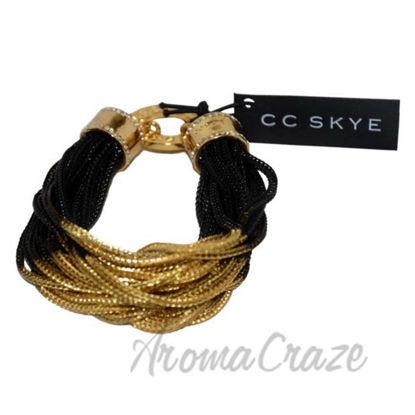 Picture of Midnight Bracelet in Black/Gold by CC Skye for Women - 1 Pc Bracelet